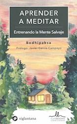 Libro Aprender A Meditar