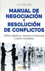 Libro Manual De Negociacion Y Resolucion De Conflictos