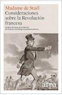 Papel CONSIDERACIONES SOBRE LA REVOLUCION FRANCESA (CARTONE)