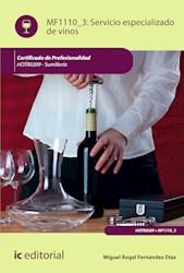 Libro Servicio Especializado De Vinos. Hotr0209 - Sumill