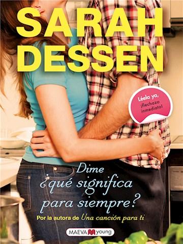 E-book Dime ¿Qué Significa Para Siempre?