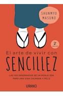 Papel ARTE DE VIVIR CON SENCILLEZ (BOLSILLO)