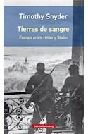 Papel TIERRAS DE SANGRE EUROPA ENTRE HITLER Y STALIN