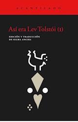 Papel ASI ERA LEV TOLSTOI (I)