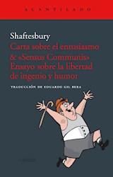 Papel CARTA SOBRE EL ENTUSIASMO & SENSUS COMMUNIST