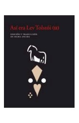Papel ASI ERA LEV TOLSTOI (II)