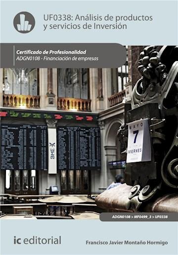 E-book Análisis De Productos Y Servicios De Inversión. Adgn0108