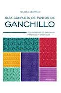 Papel GUIA COMPLETA DE PUNTOS DE GANCHILLO
