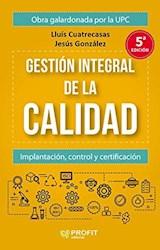 Libro Gestion Integral De La Calidad