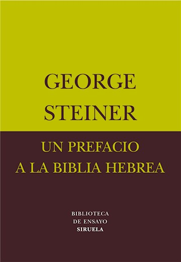 E-book Un Prefacio A La Biblia Hebrea