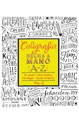 Papel CALIGRAFIA HECHA A MANO A-Z
