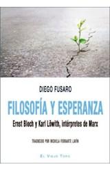 Papel FILOSOFIA Y ESPERANZA