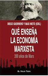 Papel QUE ENSEÑA LA ECONOMIA MARXISTA