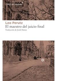 Papel El Maestro Del Juicio Final