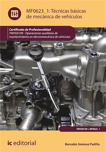 E-book Técnicas Básicas De Mecánica De Vehículos