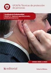 Libro Tecnicas De Proteccion De Personas. Sead0112 - V