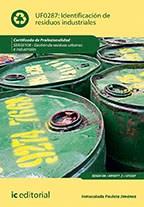 Papel Identificación De Residuos Industriales. Seag0108 - Gestión De Residuos Urbanos E Industriales