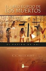 Libro El Libro Egipcio De Los Muertos