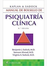 Papel Kaplan Y Sadock. Manual De Bolsillo De Psiquiatría Clínica. Ed. 6ª