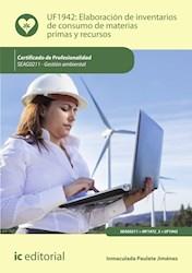 Libro Elaboracion De Inventarios De Consumo De Materias
