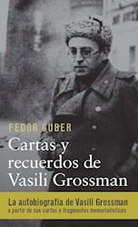 Libro Cartas Y Recuerdos De Vasili Grossman