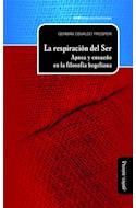 Papel RESPIRACION DEL SER APNEA Y ENSUEÑO EN LA FILOSOFIA HEGELIANA (CARTONE)