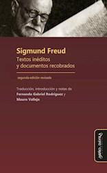 Libro Sigmund Freud. Textos Ineditos Y Documentos Recob