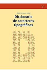Papel DICCIONARIO DE CARACTERES TIPOGRAFICOS