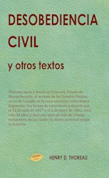 Libro Desobediencia Civil Y Otros Textos