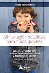 Libro Alimentacion Saludable Para Ni/Os Geniales