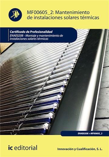 E-book Mantenimiento De Instalaciones Solares Térmicas. Enae0208
