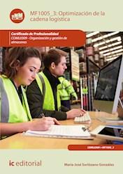 Libro Optimizacion De La Cadena Logistica. Coml0309 -