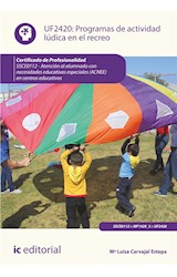E-book Programas de actividad lúdica en el recreo. SSCE0112