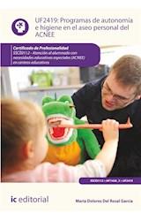 E-book Programas de autonomía e higiene en el aseo personal del ACNEE. SSCE0112