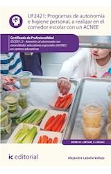 E-book Programas de autonomía e higiene personal, a realizar en el comedor escolar con un ACNEE. SSCE0112