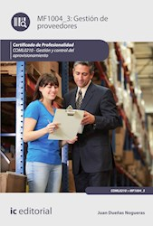 Libro Gestion De Proveedores. Coml0210 - Gestion Y Con