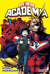 Papel My Hero Academia Vol.1 -Portada Comun-