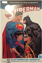 Libro Superman Vol .2 - Las Pruebas Del Superhijo