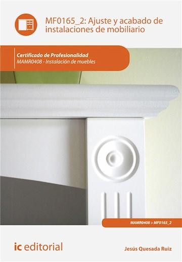 E-book Ajuste Y Acabado De Instalaciones De Mobiliario. Mamr0408