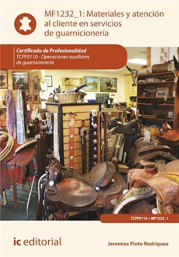 E-book Materiales Y Atención Al Cliente En Servicios De Guarnicionería. Tcpf0110