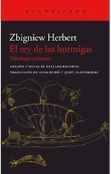 Papel EL REY DE LAS HORMIGAS