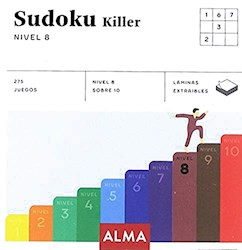 Papel Sudoku Killer Nivel 8