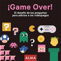 Papel ¡Game Over! El Desafio De Las Preguntas Para Adictos A Los Videojuegos