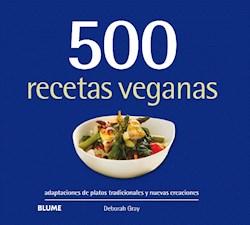 Libro 500 Recetas Veganas