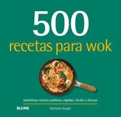 Libro 500 Recetas Para Wok