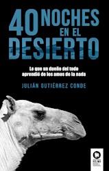 Libro 40 Noches En El Desierto.