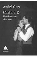 Papel CARTA A D UNA HISTORIA DE AMOR (BOLSILLO) (CARTONE)