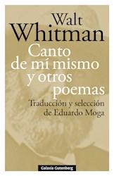 Libro Canto De Mi Mismo Y Otros Poemas