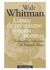 Papel Canto De Mí Mismo Y Otros Poemas