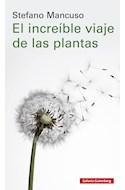 Papel INCREIBLE VIAJE DE LAS PLANTAS